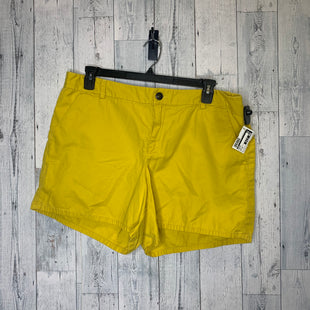Primary Photo - BRAND: GAP STYLE: SHORTS COLOR: YELLOW SIZE: 18 SKU: 176-176124-25761