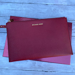 Primary Photo - BRAND: MICHAEL KORS STYLE: WRISTLET COLOR: RED SKU: 176-176134-1916