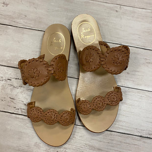 Primary Photo - BRAND: JACK ROGERS STYLE: SANDALS FLAT COLOR: BROWN SIZE: 6 SKU: 176-176150-5383