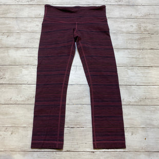 Primary Photo - BRAND: LULULEMON STYLE: ATHLETIC CAPRIS COLOR: PURPLE SIZE: 4 OTHER INFO: AS IS SKU: 176-17684-45075