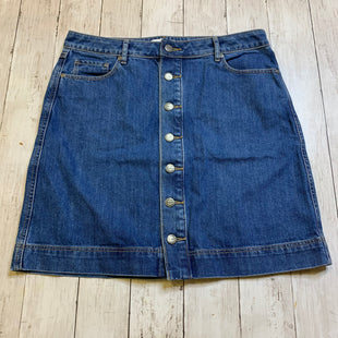 Primary Photo - BRAND: LOFT STYLE: SKIRT COLOR: DENIM SIZE: 6 SKU: 176-176122-18968
