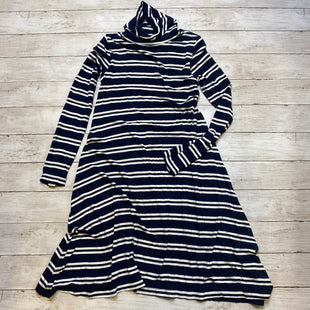 Primary Photo - BRAND: MAEVE STYLE: DRESS SHORT LONG SLEEVE COLOR: NAVY SIZE: XS SKU: 176-176114-34184