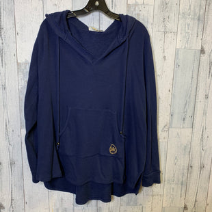 Primary Photo - BRAND: MICHAEL BY MICHAEL KORS STYLE: SWEATSHIRT HOODIE COLOR: NAVY SIZE: 2X SKU: 176-17641-39012