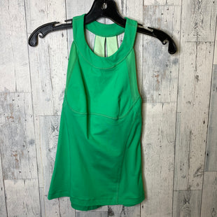 Primary Photo - BRAND: LULULEMON STYLE: ATHLETIC TANK TOP COLOR: GREEN SIZE: 2 SKU: 176-17684-45303