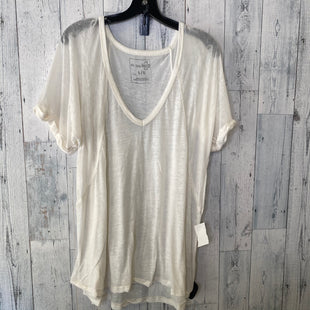 Primary Photo - BRAND: WE THE FREE STYLE: TOP SHORT SLEEVE COLOR: CREAM SIZE: L SKU: 176-176124-24688