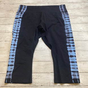 Primary Photo - BRAND: ZELOS STYLE: ATHLETIC CAPRIS COLOR: BLACK SIZE: 2X SKU: 176-176134-3870