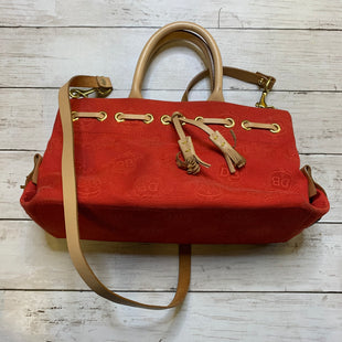 Primary Photo - BRAND: DOONEY AND BOURKE STYLE: HANDBAG DESIGNER COLOR: RED SIZE: SMALL SKU: 176-176124-24573