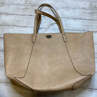 Primary Photo - BRAND: STEVE MADDEN STYLE: TOTE COLOR: CREAM SIZE: LARGE SKU: 176-17684-45357