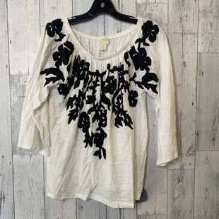 Primary Photo - BRAND: CHICOS STYLE: TOP SHORT SLEEVE COLOR: WHITE SIZE: M SKU: 176-176121-25612