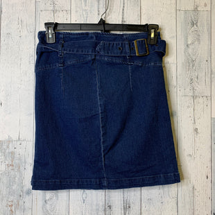 Primary Photo - BRAND: FREE PEOPLE STYLE: SKIRT COLOR: DENIM SIZE: 10 SKU: 176-17641-39570