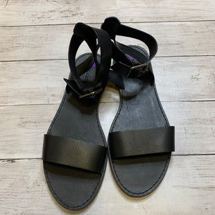 Primary Photo - BRAND: MADEWELL STYLE: SANDALS FLAT COLOR: BLACK SIZE: 8 SKU: 176-176134-3077