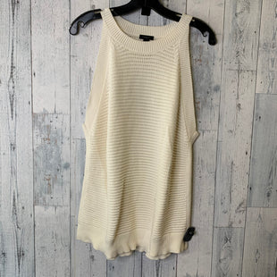 Primary Photo - BRAND: ANN TAYLOR O STYLE: TOP SLEEVELESS COLOR: CREAM SIZE: XL SKU: 176-176114-38074