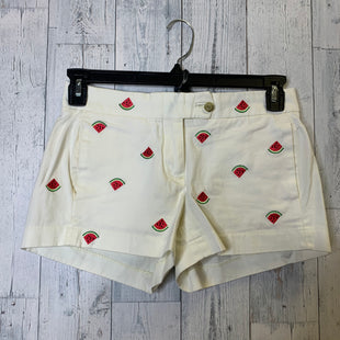 Primary Photo - BRAND: J CREW O STYLE: SHORTS COLOR: CREAM SIZE: 0 SKU: 176-176134-4846