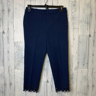 Primary Photo - BRAND: CHARTER CLUB STYLE: CAPRIS COLOR: NAVY SIZE: 8 SKU: 176-176121-24285