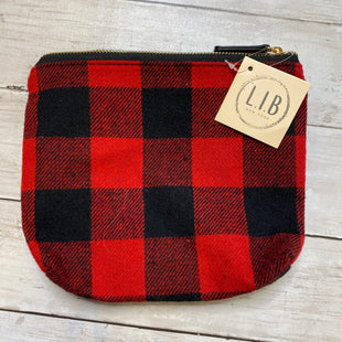 Primary Photo - BRAND:    CLOTHES MENTOR STYLE: MAKEUP BAG COLOR: RED BLACK OTHER INFO: LIB - SKU: 176-176122-20413