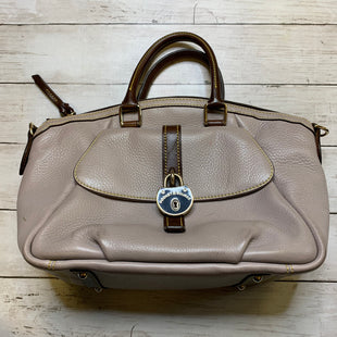 Primary Photo - BRAND: DOONEY AND BOURKE STYLE: HANDBAG DESIGNER COLOR: TAUPE SIZE: MEDIUM SKU: 176-176121-25532