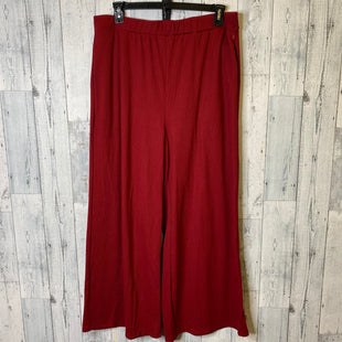 Primary Photo - BRAND: SHEIN STYLE: PANTS COLOR: RED SIZE: 3X SKU: 176-176121-24381
