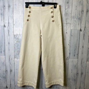 Primary Photo - BRAND: LOFT STYLE: PANTS COLOR: CREAM SIZE: 4 SKU: 176-176124-25858