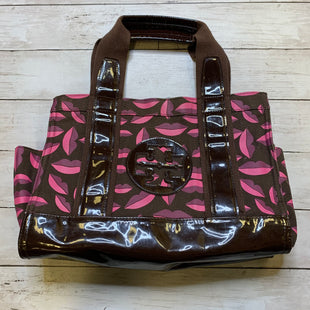 Primary Photo - BRAND: TORY BURCH STYLE: HANDBAG DESIGNER COLOR: BROWN SIZE: SMALLSKU: 176-176121-25528