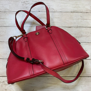 Primary Photo - BRAND: COACH STYLE: HANDBAG DESIGNER COLOR: MAGENTA SIZE: MEDIUM SKU: 176-176124-23315