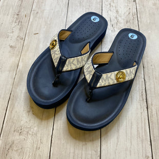 Primary Photo - BRAND: MICHAEL KORS STYLE: FLIP FLOPS COLOR: NAVY SIZE: 6 SKU: 176-176114-38129