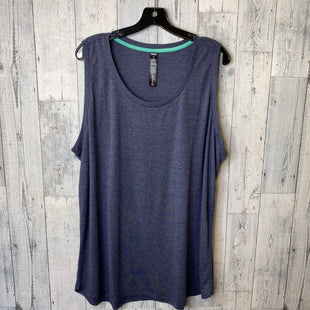 Primary Photo - BRAND: RBX STYLE: ATHLETIC TANK TOP COLOR: NAVY SIZE: 3X SKU: 176-176114-33006