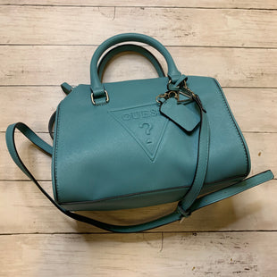 Primary Photo - BRAND: GUESS STYLE: HANDBAG COLOR: TEAL SIZE: MEDIUM SKU: 176-17684-47470