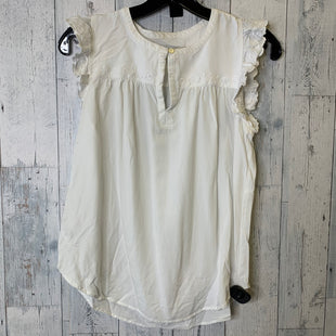 Primary Photo - BRAND: LOFT STYLE: TOP SLEEVELESS COLOR: WHITE SIZE: S SKU: 176-176153-33