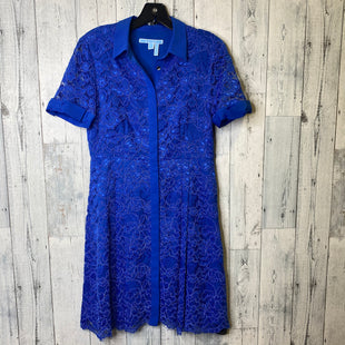 Primary Photo - BRAND: DRAPER JAMES STYLE: DRESS SHORT SHORT SLEEVE COLOR: BLUE SIZE: S SKU: 176-176122-18856