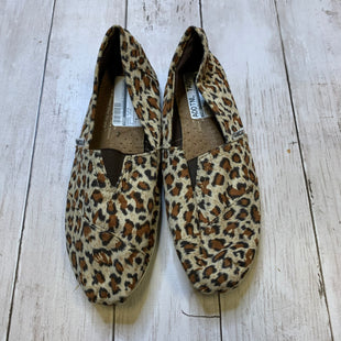 Primary Photo - BRAND: TOMS STYLE: SHOES FLATS COLOR: ANIMAL PRINT SIZE: 8 SKU: 176-176122-20693
