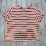 Photo #1 - BRAND: FOREVER 21 <BR>STYLE: TOP SHORT SLEEVE BASIC <BR>COLOR: PINK <BR>SIZE: 2X <BR>SKU: 176-176122-20699