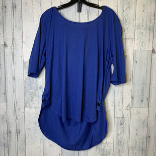 Primary Photo - BRAND: CLOTHES MENTOR STYLE: ATHLETIC TOP COLOR: BLUE SIZE: 2X OTHER INFO: 22/24 SKU: 176-176124-26198