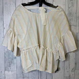 Primary Photo - BRAND: LUMIERE STYLE: TOP SHORT SLEEVE COLOR: CREAM SIZE: M SKU: 176-17684-42507