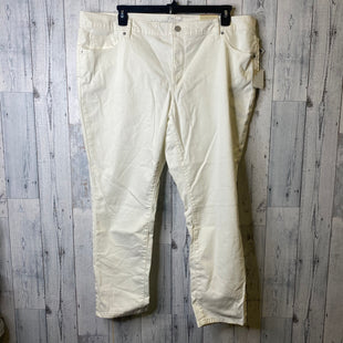 Primary Photo - BRAND: UNIVERSAL THREAD STYLE: JEANS COLOR: CREAM SIZE: 22 SKU: 176-17641-39804