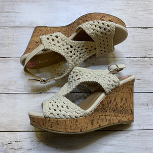 Primary Photo - BRAND: ALTARD STATE STYLE: SANDALS HIGH COLOR: CREAM SIZE: 9 SKU: 176-17684-44737