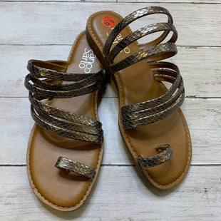 Primary Photo - BRAND: FRANCO SARTO STYLE: SANDALS FLAT COLOR: BROWN SIZE: 6.5 SKU: 176-176124-24793