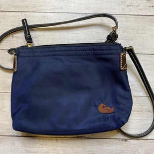 Primary Photo - BRAND: DOONEY AND BOURKE STYLE: HANDBAG DESIGNER COLOR: NAVY SIZE: SMALL SKU: 176-17684-45064