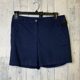Primary Photo - BRAND: ANN TAYLOR LOFT O STYLE: SHORTS COLOR: NAVY SIZE: 4 SKU: 176-17684-46186