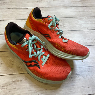 Primary Photo - BRAND: SAUCONY STYLE: SHOES ATHLETIC COLOR: CORAL SIZE: 8.5 SKU: 176-176121-19820