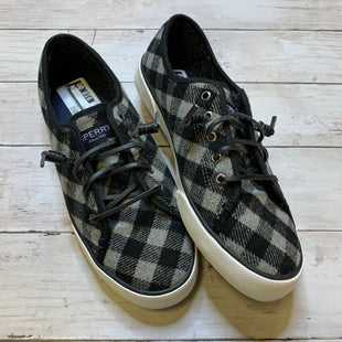 Primary Photo - BRAND: SPERRY STYLE: SHOES FLATS COLOR: BLACK SIZE: 8.5 SKU: 176-176124-23685