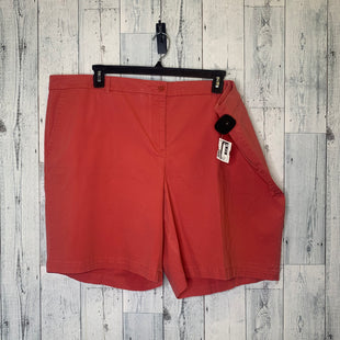 Primary Photo - BRAND: TALBOTS STYLE: SHORTS COLOR: CORAL SIZE: 24 SKU: 176-176114-30742
