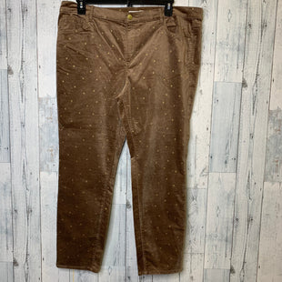 Primary Photo - BRAND: LOFT STYLE: PANTS COLOR: BROWN SIZE: 18 OTHER INFO: NWT SKU: 176-176122-20890