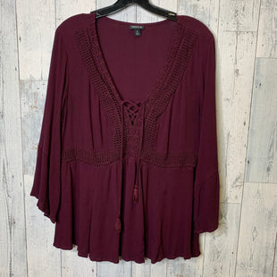 Primary Photo - BRAND: TORRID STYLE: TOP LONG SLEEVE COLOR: BURGUNDY SIZE: 2X SKU: 176-17684-45802