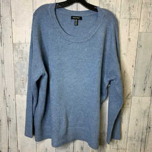 Primary Photo - BRAND: ELLEN TRACY STYLE: TOP LONG SLEEVE COLOR: BLUE SIZE: 1X SKU: 176-176124-22823