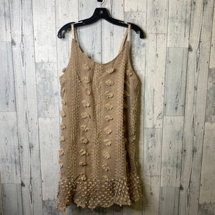 Primary Photo - BRAND:    CLOTHES MENTOR STYLE: DRESS SHORT SLEEVELESS COLOR: BROWN SIZE: L OTHER INFO: &MERCI - SKU: 176-176150-5155