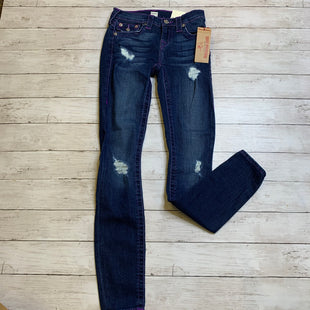 Primary Photo - BRAND: TRUE RELIGION STYLE: JEANS DESIGNER COLOR: DENIM SIZE: 2 OTHER INFO: 25 SKU: 176-17684-47713