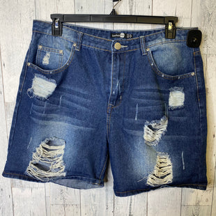 Primary Photo - BRAND: BOOHOO BOUTIQUE STYLE: SHORTS COLOR: DENIM SIZE: 14 SKU: 176-176122-20041