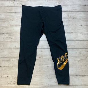 Primary Photo - BRAND: NIKE APPAREL STYLE: ATHLETIC PANTS COLOR: BLACK SIZE: 2X SKU: 176-17684-45991