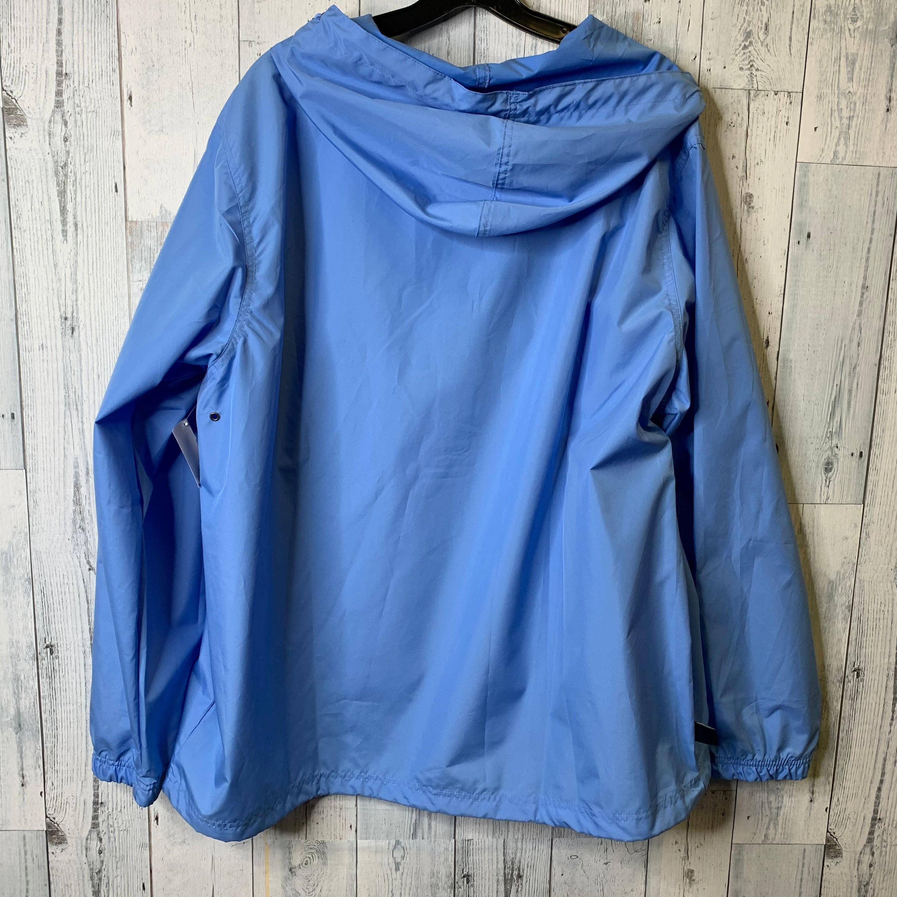 Photo #1 - BRAND:    CLOTHES MENTOR <BR>STYLE: JACKET OUTDOOR <BR>COLOR: BABY BLUE <BR>SIZE: XL <BR>OTHER INFO: CHARLES RIVER - <BR>SKU: 176-176150-3099