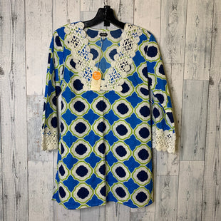 Primary Photo - BRAND: MUDPIE STYLE: DRESS SHORT LONG SLEEVE COLOR: BLUE SIZE: S SKU: 176-176146-448